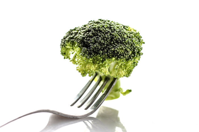 Broccoli Close-up Focus On Foreground Food Fresh Green Color Growth Nature No People Plant Studio Shot Vegetable Vegetables Vitamins White Background
