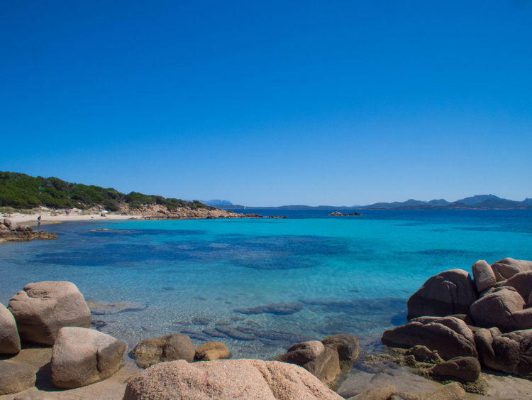 Capriccioli Coastline Mare Sardegna Sardinia Sea Tourism Water