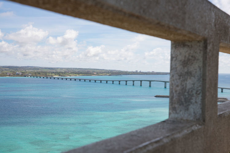 Clear Sky Driving Happiness Holiday Nature Okinawa Sunlight Travel Vacations Architecture Blue Sky Bridge Built Structure Day Frame Miyakojima Nature No People Outdoors Sea Sky Summer Sunshine Turquoise Water