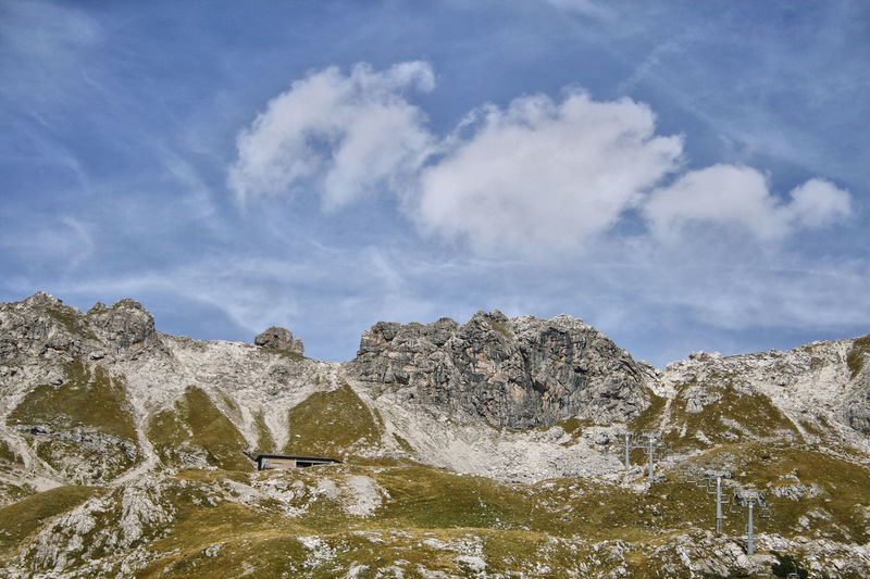 Beauty In Nature Cloud - Sky Day Geology Landscape Mountain Nature No People Oesterreich Outdoors Scenics Sky Tranquil Scene Tranquility Österreich