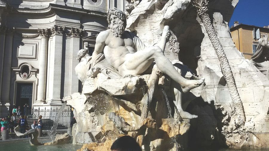 Art is the way Rome Italy Fontana Dei Fiumi Every Continents Art Connect People