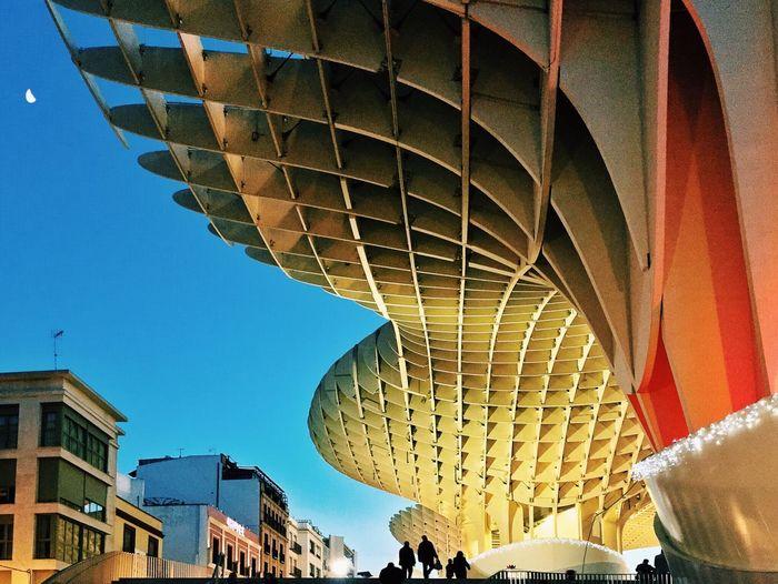 Metropol Parasol, Sevilla. Youmobile Mobilephotography AMPt_community Modern Architecture Metropol Parasol NEM Architecture Joselines EyeEm Best Shots - Architecture Awesome Architecture EyeEm Best Shots