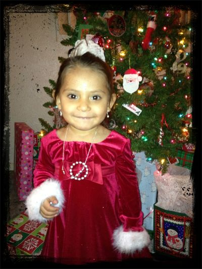 My Cute Little Niece This Christmas Eve :)