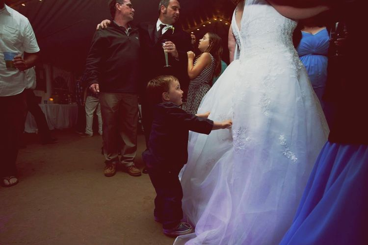 """""""May I have this dance"""" Little Boys Wedding Dress Wedding Day Celebration Asking To Dance Men Real People Togetherness People EyeEmNewHere"""