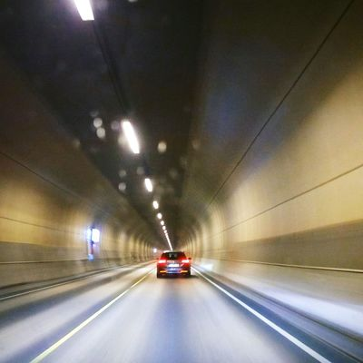 Tunel Tunnel Transportation Driving Speed Car Escape