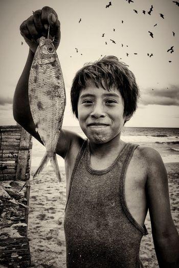 Retrato Puerto Cayo Manabí Ecuador