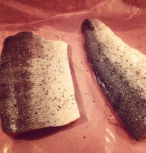Foodie Salmon Salmon Skin