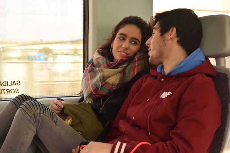 lover's eyes! Loveable Love Barcelona SPAIN Metrobus Metro Couples Shoot Couple Things I Like My Favorite Photo My Commute Feel The Journey On The Way Two Is Better Than One Long Goodbye Second Acts An Eye For Travel