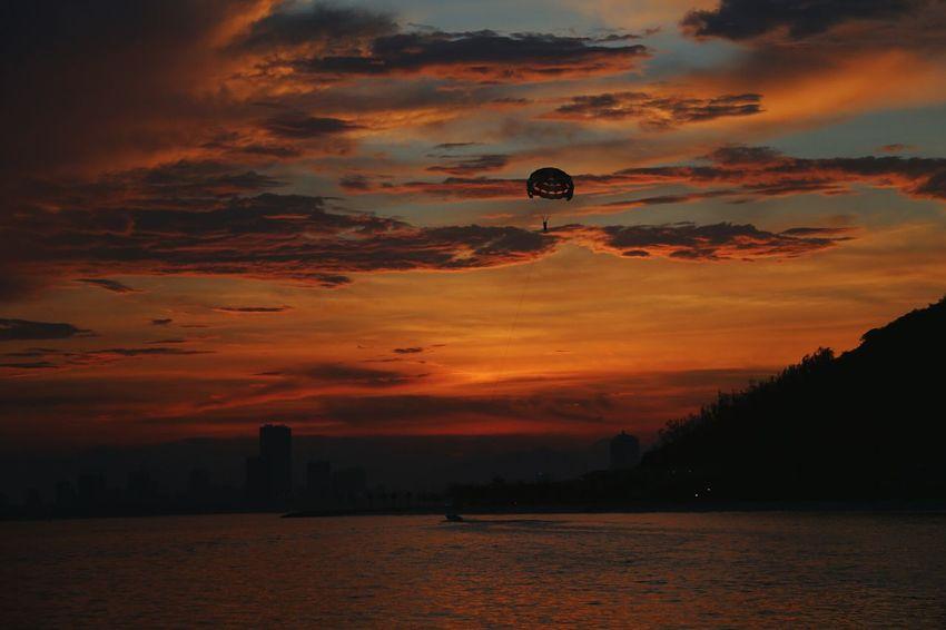sunset at vinpearl, Vietnam