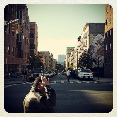 Mi barrio. Earlybird NYCrossings Washingtonheights NYC NewYorkCity Manhattan igers igersny instagramny instagramnyc