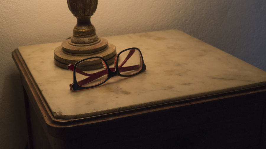 Close-up Day Furniture Glasses Indoors  No People Old Furniture Table Vintage Wood Wood - Material