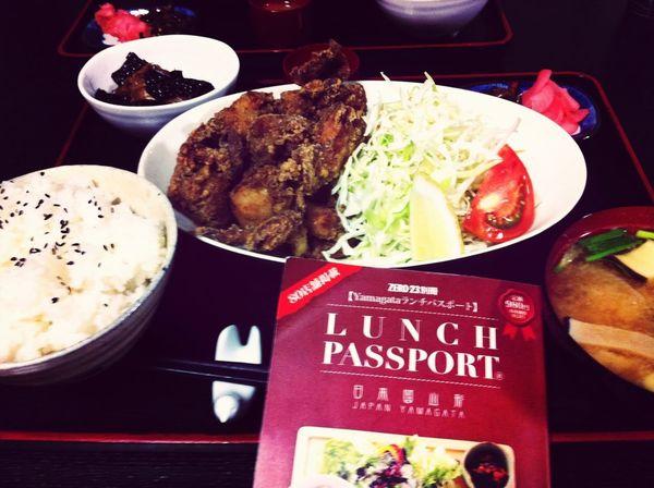 塩麹で鳥唐定食、ランパスで780円→500円♪ Lunch Passport