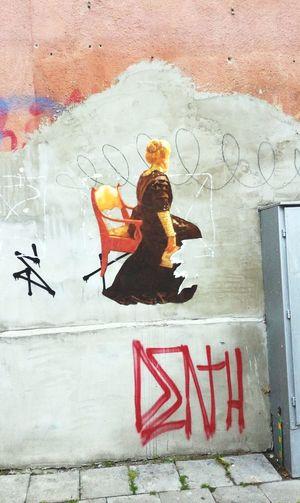 Outdoors City Graffiti Art Streetart Street Day Architecture