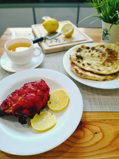 Happy Meal Nan Chicken Tandoori Chicken And Lemon Breakfast