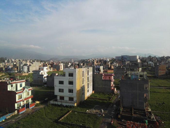Himalayan Foothills Nepal Landscape City Kathmandu Nepal