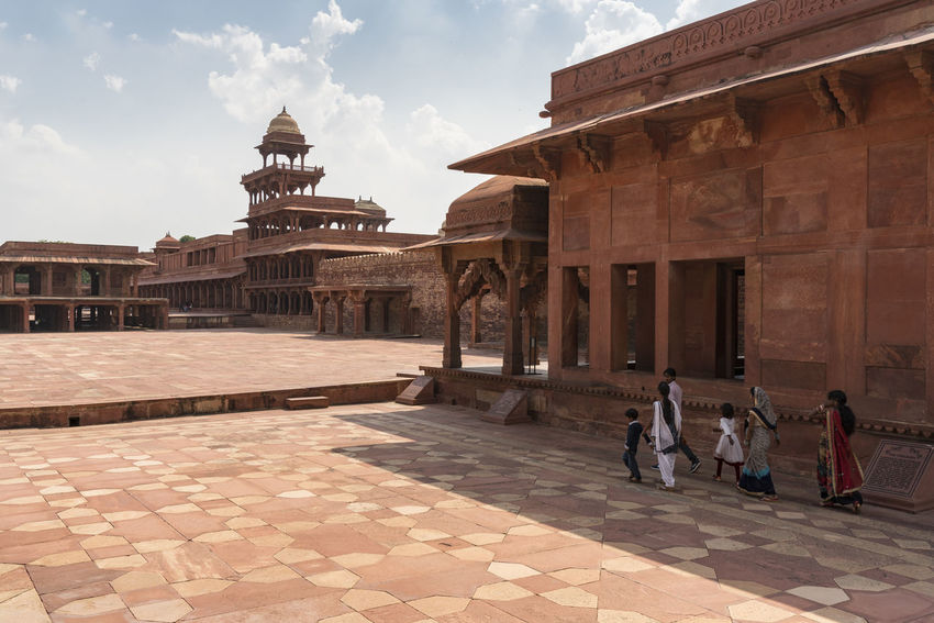 Fatehpur Sikri at Agra, India ASIA Architecture_collection Historical Building India Indian Culture  Travel Photography Agra Cityscapes Fatehpur Sikri Golden Triangle Indianstories Palace