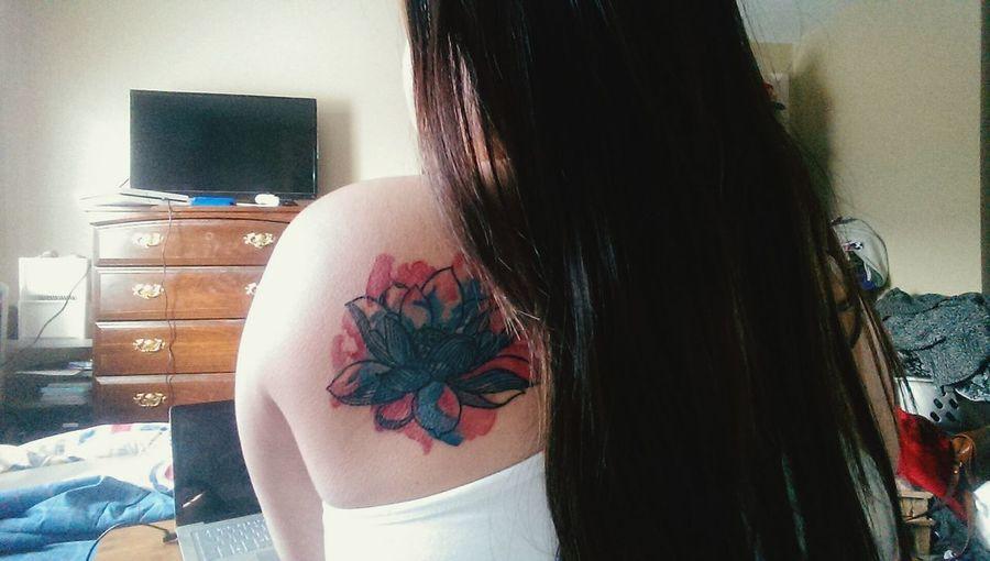 My new Watercolour Tattoo