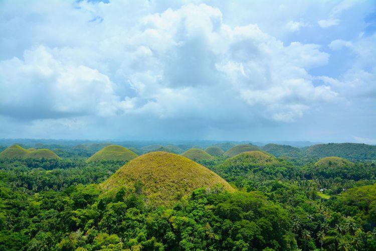 Hills Bohol Bohol Philippines Chocolatehills Scenery Shots Scenery Landscape Landscape_photography
