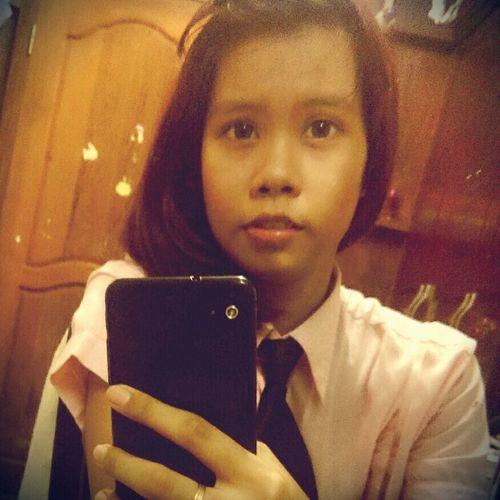 SchoolGirl School Uniform At Home Sweet Home Mirrorselfie Sweet Day