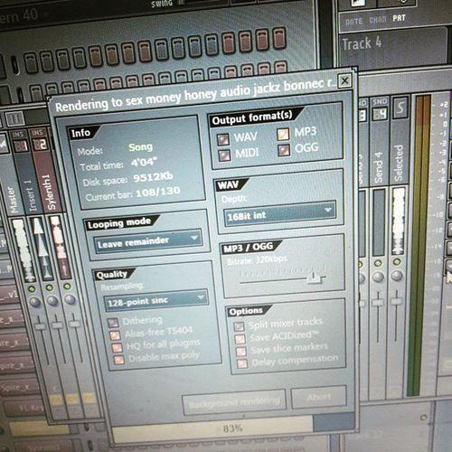 Audiojackz Bonnec Remix Sex money honey outsoon flstudio flstudio10 fl fruityloops 👌