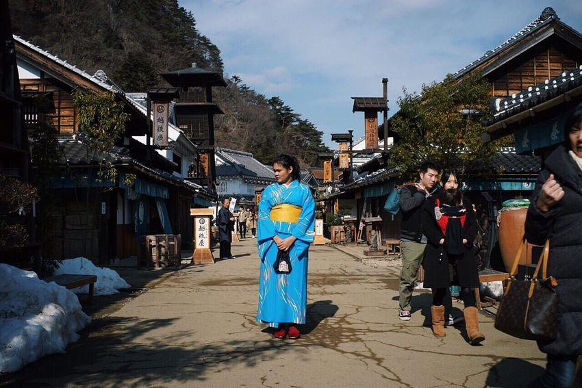 Blue kimono Blue Kimono Kimono Girl Japan