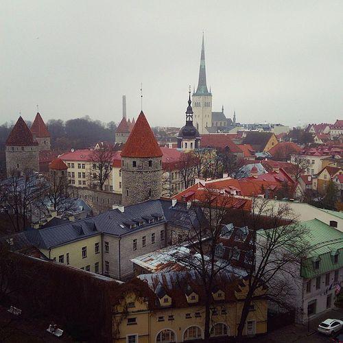 Даже плохая погода не помешает насладиться всеми красотами старого города:)