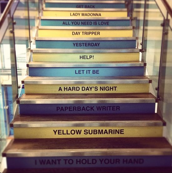 Stairs Best Of Stairways Beatles Stairways Songs Fantastic Exhibition Getting Inspired At An Exhibition Discovering Great Works Liverpool Music Ringo Starr John Lennon Paul Mccartney The Beatles Art Photography Exhibition