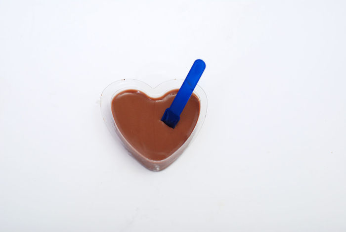 my sweet chocolate heart Chocolate Chocolate Cream Delicious 😋 Chocolate♡ Close-up Cocoa Day Food And Drink Freshness Heart Shape Heart ❤ Love ♥ No People Sweet Food White Background