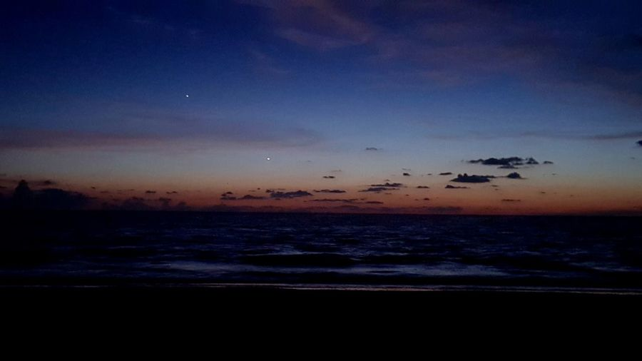 Sunset Planets Align Planets At Dusk Planets At Sunse Venus Jupiter Beach Sunset