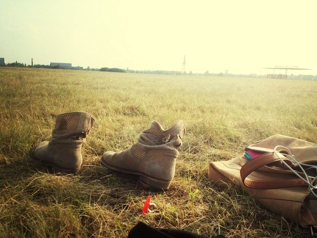 Easy Hanging Out like Sunday Morning . Shoes Nature