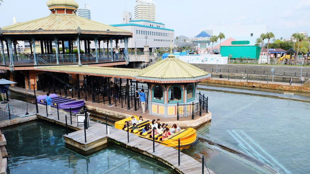 Water Outdoors Day Sky Architecture Large Group Of People Nautical Vessel Adult Wakayama,japan Boat Amusement Park Theme Park Porto Europe Fun