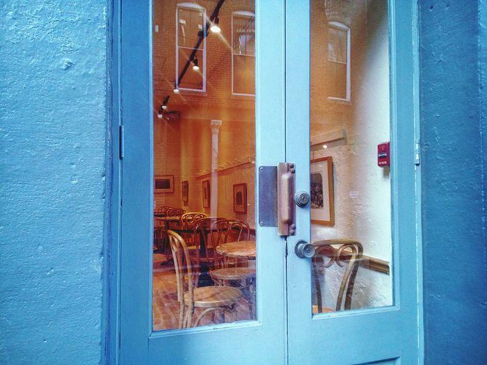 Blue Day No People Philadelphia City Life Built Structure Entrance Façade Building Exterior Doors Doors With Windows