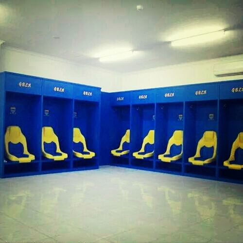 Ruang Pemain Bola. GBLA (Bandung)