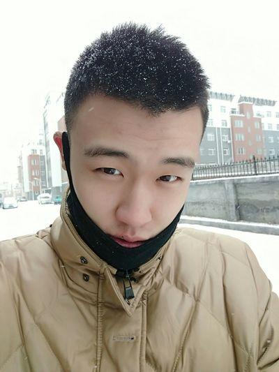 China. 下雪了