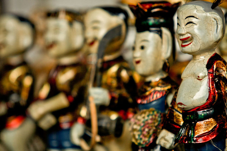 Water puppets - Vietnam traditional culture Art And Craft Cultures Puppet Traditional Traditional Culture Vietnam Water Puppet