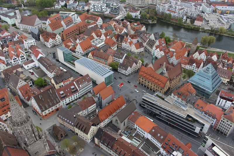 High Angle View Outdoors No People Donau Travel Destinations Architecture Cityscape Built Structure Ulmer Münster Ulm City No Filter, No Edit, Just Photography High Section Bird Angle View Canon 700D Building Exterior Water Architecture Photography Large Group Of Objects Abstract The Architect - 2017 EyeEm Awards