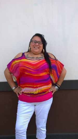 Bestfriend Casual Clothing Childhood Composition Confidence  Front View Full Length Happiness Innocence Lifestyles Looking At Camera Nativeamerican  Person Perspective Portrait Real People Smiling Standing Natives NativeGirl Young Women Native American Indian Native Ojibwe Mybestfriend friend