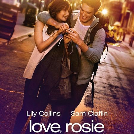 I'm in love with this one and I'm so excited to see it. The actor looks a lot like my ex. Loverosie Lilycollins SamClaflin Love Story Romantic British Movie ChickFlick Cute Lovely Sweet CantWait xoxo