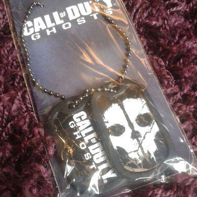Endlich! *-* ♥ Loveit Love Callofdutyghosts Codghosts call of duty cod callofduty dogtag dog tag wow nice pretty beautiful