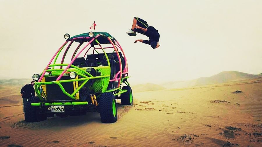 Sand boarding in peru First Eyeem Photo