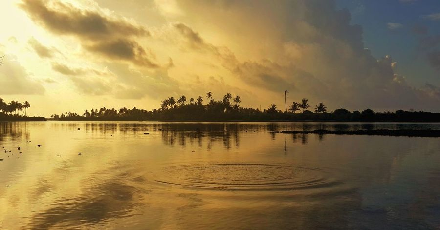 mornin bells EyeEm Best Shots EyeEmNewHere EyeEm Nature Lover EyeEm Gallery Reflection Lake Sunset Water Nature Dramatic Sky Scenics Tranquility Cloud - Sky Landscape No People Beauty In Nature Travel Destinations Horizon Over Water Sun Sky Outdoors Summer Tranquil Scene