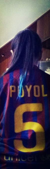 This is your last season in FC. Barcelona, but your spirit, your strong, your hope, and all you will be here forever. More than a legend, You're FC Barcelona. Carles Puyol FC Barcelona Football Legend