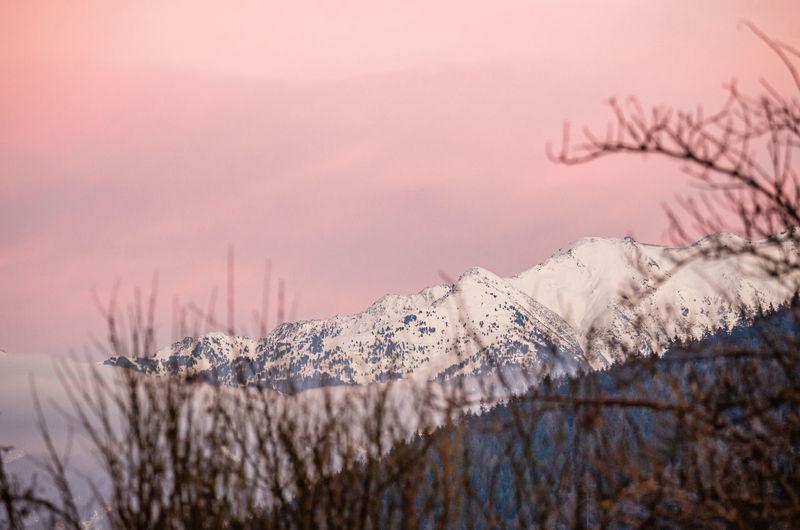 Austrian sunset
