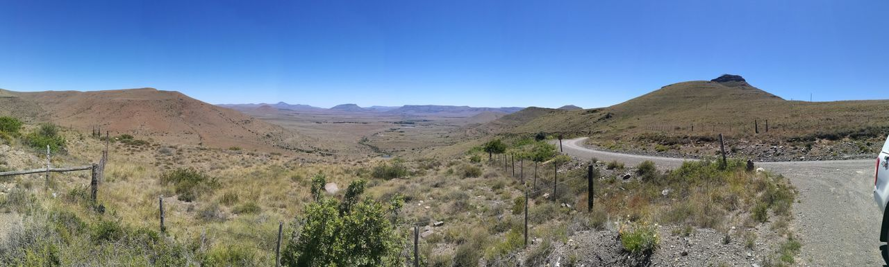 View of valley from Swears work pass