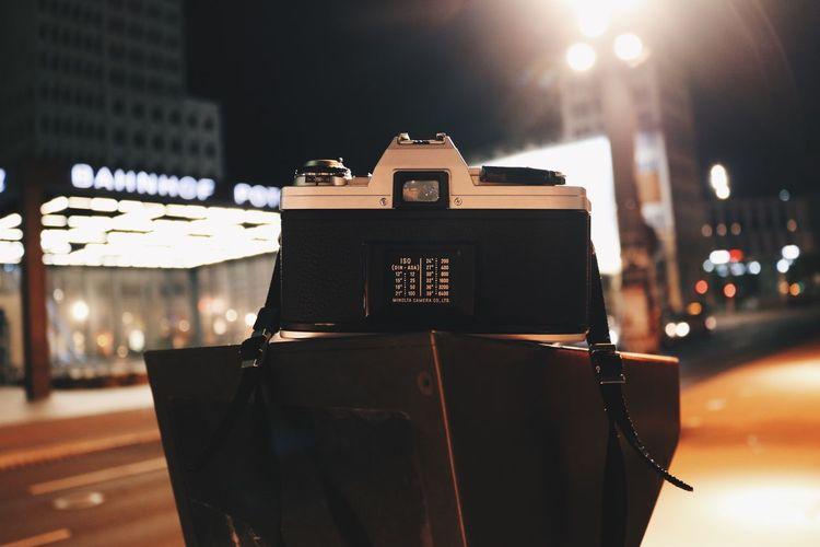 Cities At Night Nightphotography Night Lights City Minolta Berlin Potsdamer Platz Urban Light And Shadow Night • Minolta | Berlin.