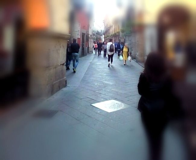 Streetphotography Luogo #italy City Crowd Pedestrian Men Women Walking Architecture Built Structure Building Exterior This Is Family Visual Creativity EyeEmNewHere
