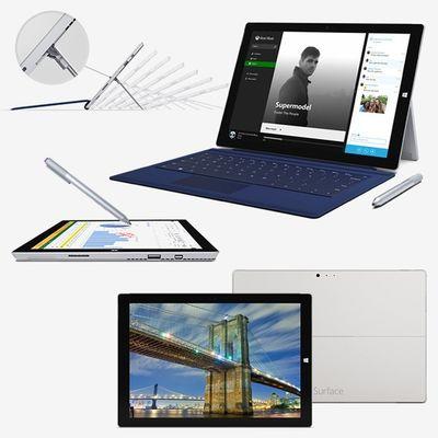 Das Surface 3 Pro von Microsoft ist da! Obwohl es jetzt mit 12 Zoll statt 10 Zoll Display daher kommt, ist es leichter und dünner geworden! Wer mehr Details braucht, sollte bei uns im Blog vorbei schauen http://blog.notebooksbilliger.de/microsoft-stellt-surface-3-pro-vor/ Microsoft Surface