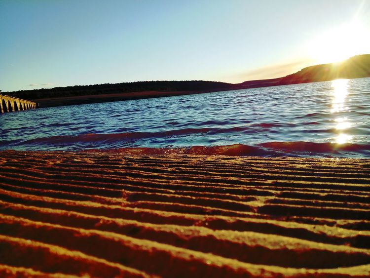 EyeEmNewHere Color Beach Water Nature Sunset Sky Beauty In Nature Tranquility No People Zamora, Spain EyeEmNewHere