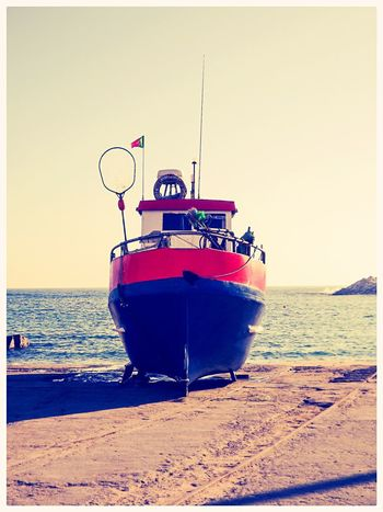 Deep rest Fishing Boat Ericeira Boat