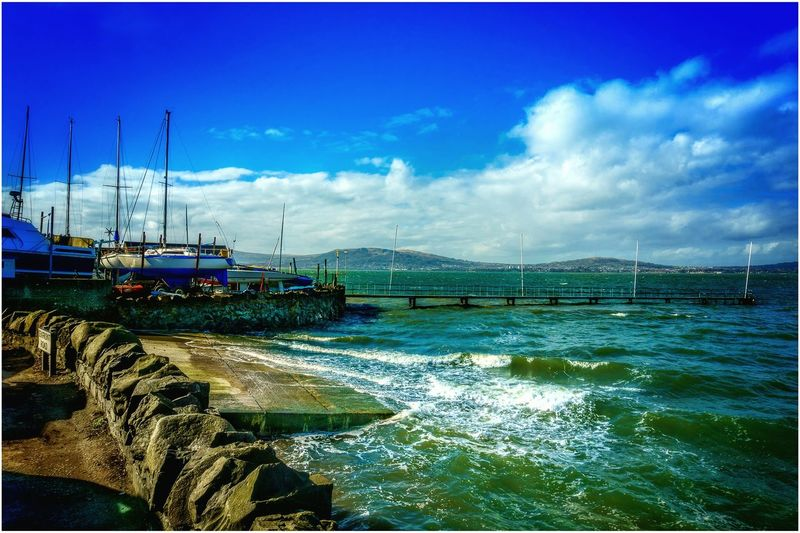 Belfast Lough Cultra County Down Northern Ireland Seascape Yachtclub